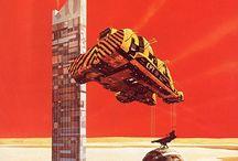 Chriss Foss / Astronavi e fantascienza