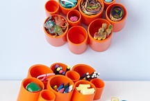 Craft ideas - upcycle: PVC pipe