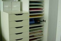 Scrapbooking Cupboards