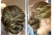 Updos & Bridal Hair / We love to send your hair up to the sky!