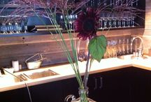 Cruw restaurant / Jeg har vært med og dekorert på Cruw restauranten.