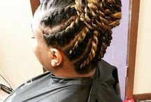 Chic Twist Hairstyles for Natural Hair / Inspiration for Chic Twist Hairstyles for Natural Hair