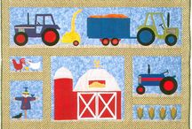 Farm quilts / Farm themed quilting inspiration, patterns and tutorials / by Alison Gemmill-Brady