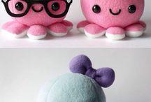 Cute squids