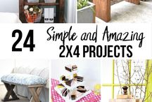 Hand Made Furniture Ideas, Patterns and Plans | Home Decor / This board is a collection of DIY furniture ideas that can be made on a budget.  It includes DIY bedframes, DIY headboards, DIY nightstands, DIY tables, DIY benches and more.