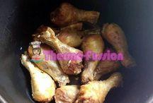 pollo guisado con patatas en la fussioncook
