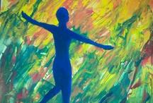malen / von mir gemalte Acrylbilder
