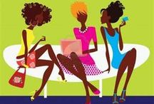 Afro-Art (Natural Hair Illustration)