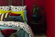 Rood - kleur en interieur / Kleuradvies interieur