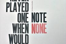 Typography / by Kirsten Olesen