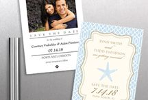 eInvite Save the Date Cards / Save the Date Cards are the pre-invitation announcement that communicates your wedding date and lets guests know that they will be invited to the celebration. Typically it is recommended to send them out six to nine before your wedding.