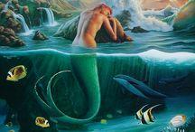 I wish I were a mermaid!
