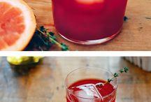 Boissons et Bebidas / Drinks from the recipe file.