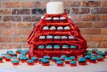 Our Wedding - Red & Teal Wedding Water Wedding / The aftermath of 2 years of planning and tons of Pinterest Surfing