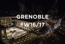 Moncler Grenoble Fall-Winter 2016/17 Show / The Moncler Grenoble Fall-Winter 2016/17 show is a thrilling and many-faceted choreographic performance which intertwines dance with active sport in the vast central plaza of Lincoln Center http://on.moncler.com/1SrGGcb / by Moncler