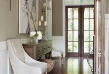 entryway decor / by Marion Green