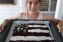 July 4th Treats / Bake or Make some fun and delicious treats for your July 4th Celebration