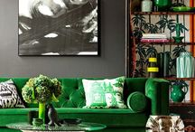 Yellow and Green Interior