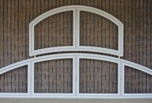 "Custom Shaped Vinyl Windows / Millcraft is your ultimate supplier for top quality custom PVC windows! Your window profiles are bent to minimum radii that lead the industry with a ""Guaranteed Glass Fit"" for your geometric shaped windows. We can bend many types of windows such as fixed, casement, and single/ double hung."