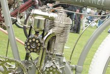 Antique Motorcycle / by Chris Fincham