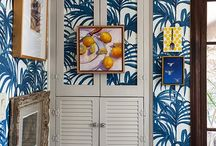 IF THESE WALLS COULD TALK-chic wallpaper