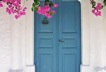 greek door