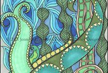 Schilderijen/tekeningen & ideeen