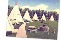 """Route 66 - Wigwam Motel / The board celebrates the Wigwam Motel in San Bernardino / Rialto, California -  a 1949 Route 66 motel that was one of seven wigwam / tee-pee shaped hotels along Route 66,  Only three still survive as motels today.  These hotels were the inspiration for the """"Cozy Cone Motel"""" in the Disney-Pixar movie """"Cars"""".  The current owners take a lot of pride and care in this location.    #route66  #wigwammotel"""