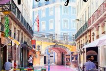 Lisbon in August - the ultimate pin board
