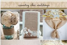 Burlap & Lace / Country Chic burlap and lace wedding details