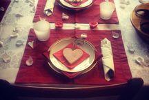 Decorazioni per la tavola / Come decorare la tua tavola
