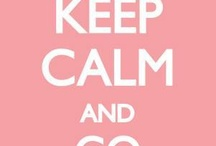 keep calm stuff...