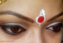Bengali Bridal Eye makeup