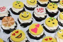 Emoticon Cakes & Cookies