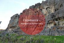Cajamarca in Nordperu - Unternehmungen und Highlights / Cajamarca ist ein geruhsames Städtchen im Norden von Peru.