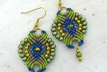 Macramé earrings