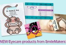 Take a look at Eye Care products from SmileMakers! / Giveaways, recall cards and more! / by SmileMakers