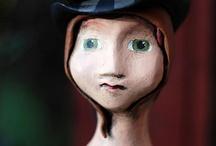 Art Dolls / Art Dolls I admire, am inspired by, or have created myself!  / by Rachel Whetzel