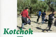 Kotchok / 'Kotchok' est le récit exceptionnel de cinq jeunes Afghans sur le chemin de l'exil, de Kaboul à Paris. Douze mille kilomètres parcourus, six frontières passées clandestinement.