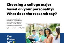 Free eBooks and Worksheets / Free PDF eBooks, infographics, handouts, and worksheets for youth, adults, and counselors about choosing a career, choosing a college major, and career guidance.