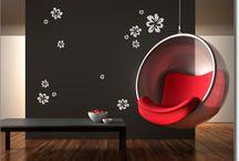Wandtattos Blumen & Pflanzen / Wunderschöne Pflanzen als Wandtattoo zur kreativen Wandgestaltung