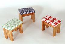 bancos y mesas