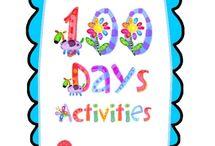Kindy 100 days activities