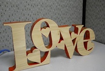 Wood letter