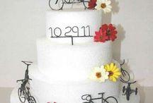 Tandem-Themed Wedding