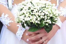 Wedding bouquet / With bouvardia