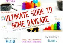 Work- homebased childcare