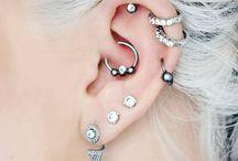 ear piercings and rings