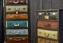 Créer avec des valises