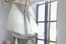 Seaside Decor / Add a nautical theme to your home.